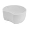 2L Crescent Dish 200 x 185 x 100mm - White Melamine