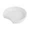 3L Crescent Dish 300 x 278 x 63mm - White Melamine