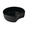 5L Crescent Dish 300 x 278 x 100mm - Black Melamine