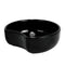 0.9L Crescent Dish 180 x 60mm - Black Melamine