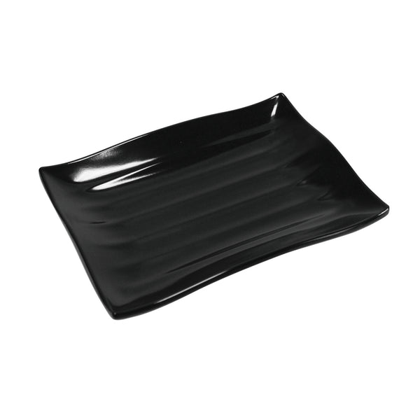 Wavy Ribbed Display Tray - 420 x 295 x 40mm - Melamine