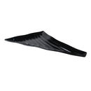 Curved Wavy Platter 539 x 376 x 38mm (Left) - Black Melamine