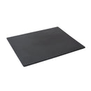 1/2 Slate Effect Display Serving Tray Platter - Black Melamine
