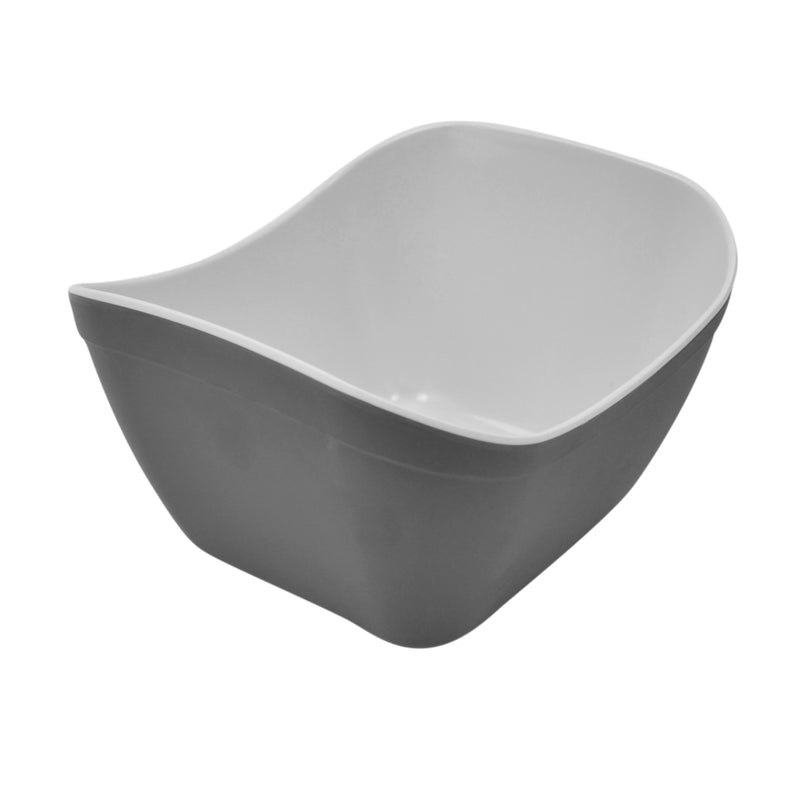 1/6 1L Verdura Curved Display Crock - Grey Melamine