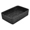 0.85L Kata Crock 130 x 175 x 70mm - Black Melamine