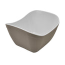 1/6 1L Verdura Curved Display Crock - Stone Melamine