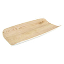 1/3 Tura Gastronorm Curved Display Tray - Natural Melamine