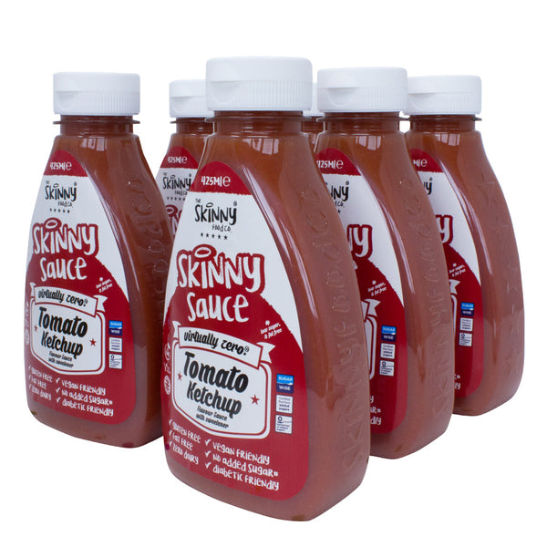 Skinny Sauce - Tomato Ketchup (6 x 425ml Pack)