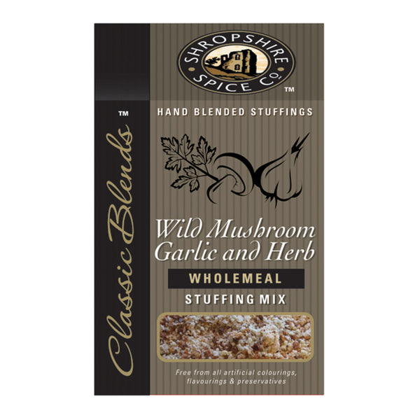 Wild Mushroom, Garlic & Herb Stuffing Mix