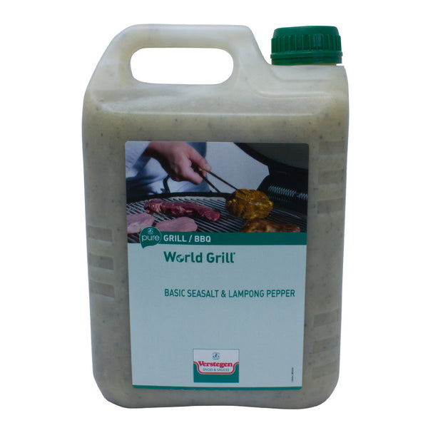Verstegen Marinade - Basic Sea Salt and Lampong Pepper World Grill