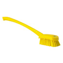 Yellow Washing/ Utility Brush - Long Handle