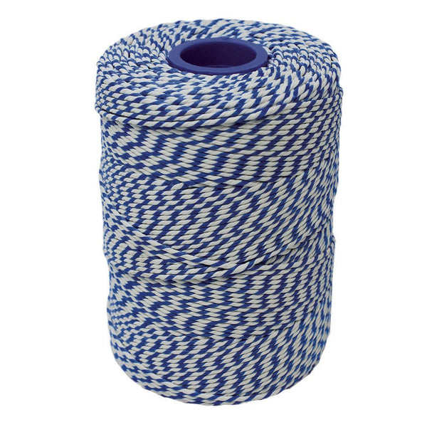 Rayon No 5 Blue & White Butchers String/Twine  Size in 260m (500g). From £5.85 per Spool