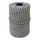 Black/White Non-Elasticated 2000T Machine String/Twine  Size in 900m (900g). From £8.35 per spool