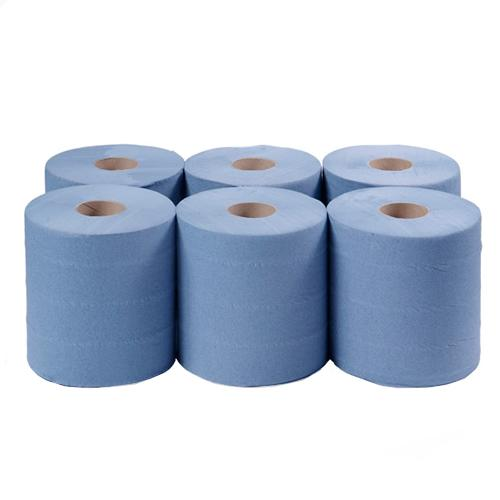Blue Centre Feed Paper Towels. From £12.87 per 6 Pack