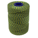 Polyester Yellow & Blue Butchers String/Twine  Size in 100m (225g). From £4.00 per Spool