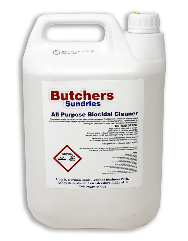 All Purpose Biocidal Cleaner 5ltr.