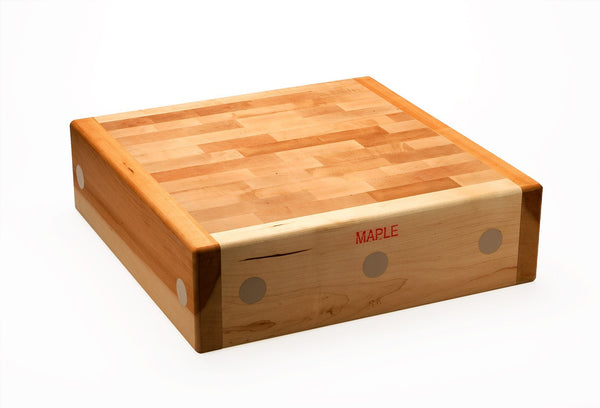 Canadian Rock Maple Butchers Blocks - Reversible 175mm