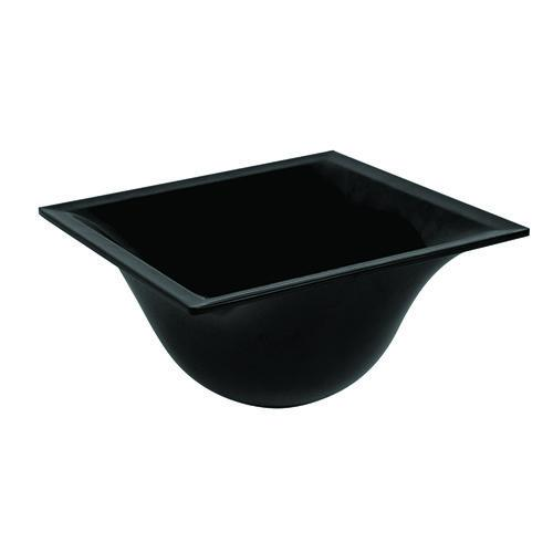 Black Melamine Small Zest Bowl 1.4L