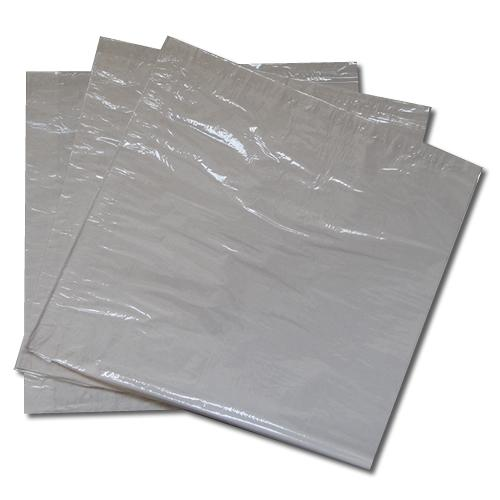 Three packs of white film fronted sandwich paper bags.