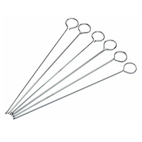 Flat Sided Metal Food Skewers