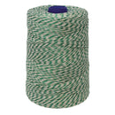 Green/White Non-Elasticated 2000T Machine String/Twine  Size in 900m (900g). From £8.35 per spool