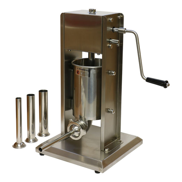 3L Vertical Sausage Stuffer - Stainless Steel