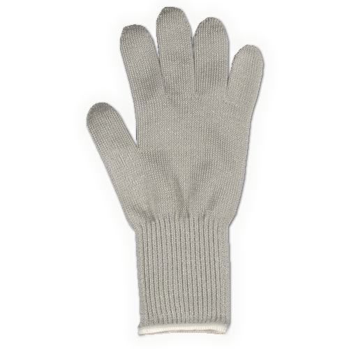 Knitted Stainless Steel Fibre Cut Resistant Glove