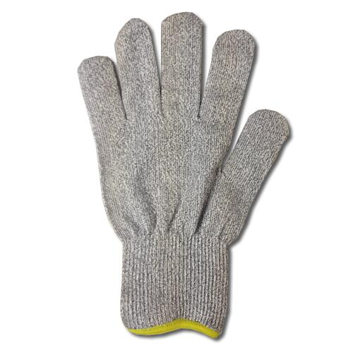 Knitted Stainless Steel Fibre Slash Resistant Short Cuff Gloves