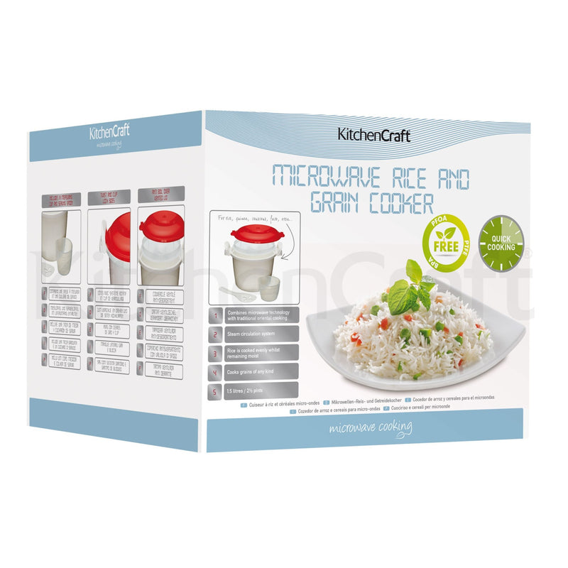 Microwave Rice Cooker 1.5L
