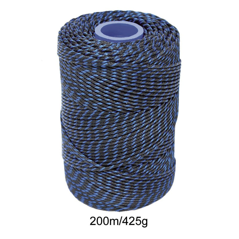 Polyester Blue & Black Butchers String/Twine  Size in 200m (425g). From £8.50 per Spool