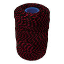 Polyester Red & Black Butchers String/Twine  Size in 200m (425g). From £8.50 per Spool