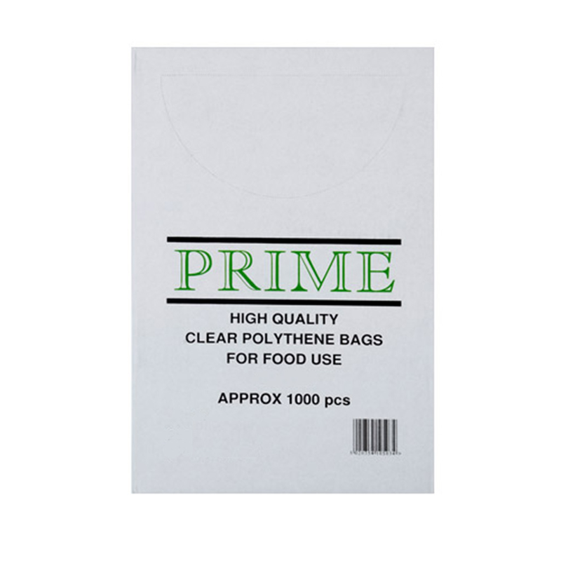 Prime high quality clear polythene bags packaging.