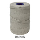 Rayon No 4 White Butchers String/Twine  Size in 200m (500g). From £4.70 per Spool