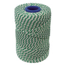 Rayon No 5 Green & White Butchers String/Twine - Size in 260m (500g). From £5.85 per Spool