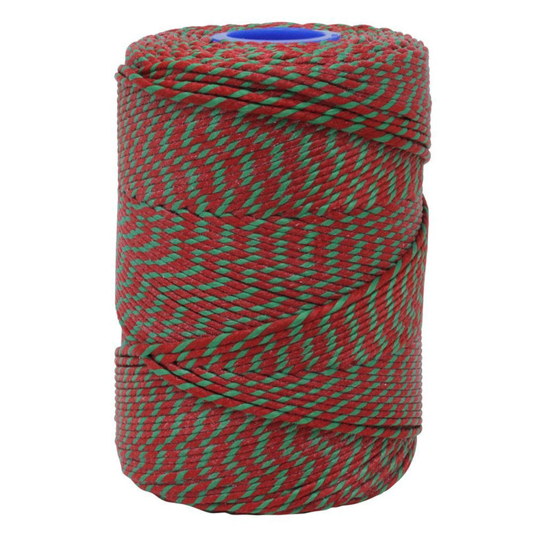 Polyester Red & Green Butchers String/Twine  Size in 200m (425g). From £8.50 per Spool