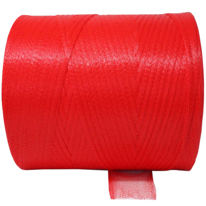 Plastic Red Mesh-Diamond Net - Multi Use  - Size in 2000m (10kg). From £64.60 per Spool