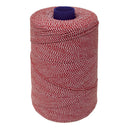 Red/White Elasticated Machine String / Twine. Size in 1,904m/kg (800g). From £8.00 per Spool