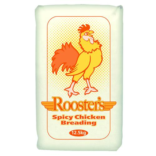 Rooster's Spicy Chicken Breading For Fried Chicken