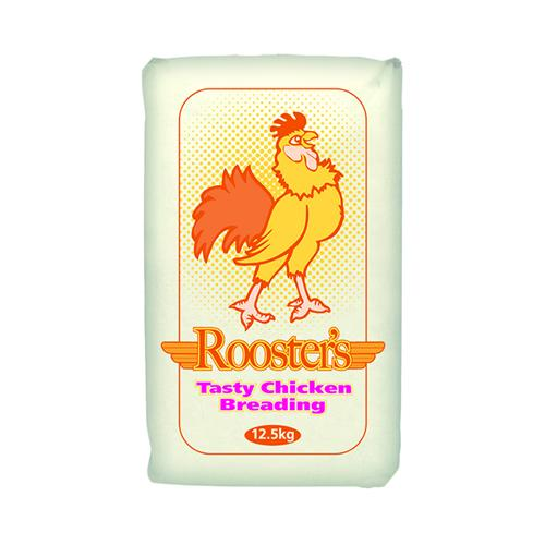 Rooster's Tasty Regular Chicken Breading For Fried Chicken