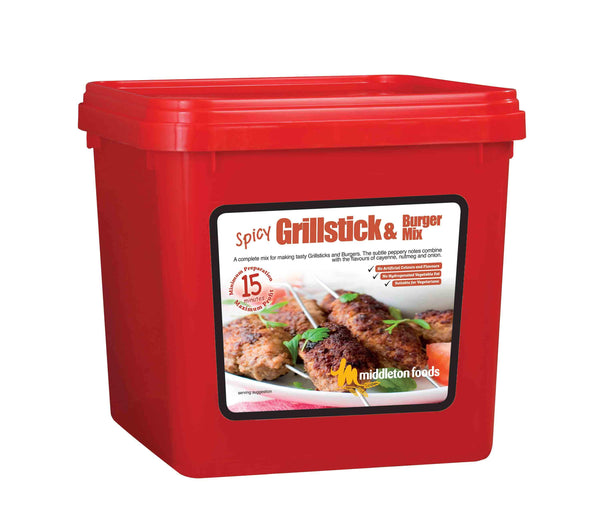 Spicy Grillstick and Burger Mix - 250g