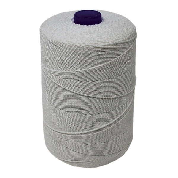 White Elasticated Machine String/Twine  Size in 1,904m/kg (800g). From £6.00 per Spool