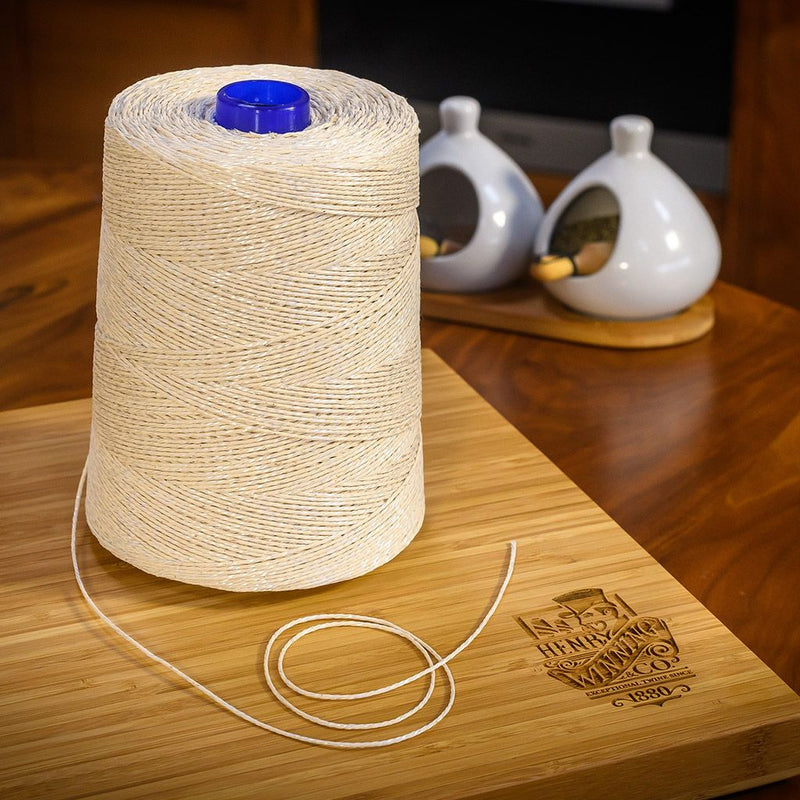 White Non-Elasticated 2000T Machine String/Twine  Size in 920m (900g). From £6.15 per Spool