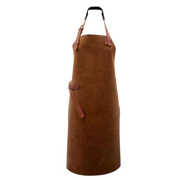 Long Leather Apron - Available in 3 Colours - Customisation Available