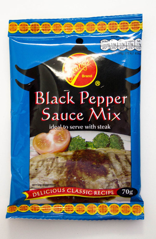 Black Pepper Sauce Mix (12 x 70g Sachets)