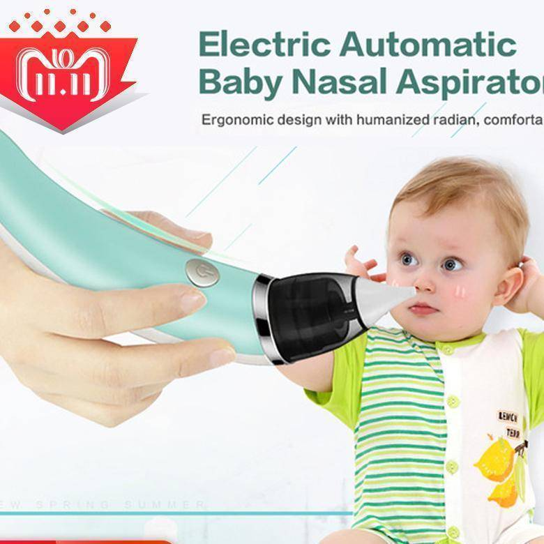 Rechargeable Baby Nasal Aspirator Safe Hygienic Nose Cleaner