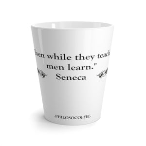 Latte mug - PHILOSOCOFFEE