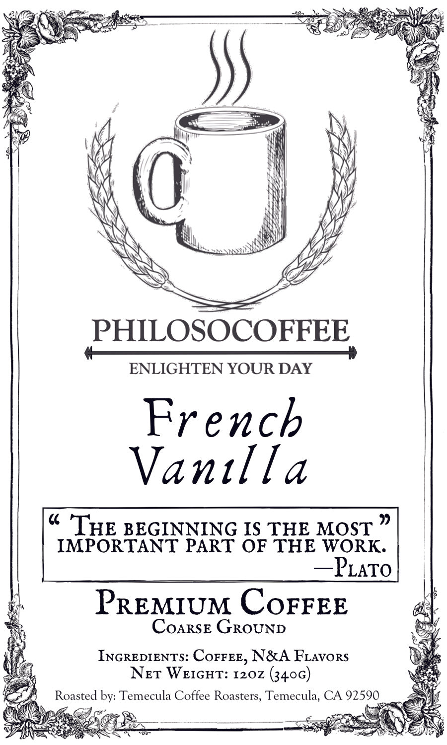 French Vanilla - PHILOSOCOFFEE