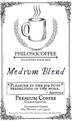 Medium Blend - PHILOSOCOFFEE