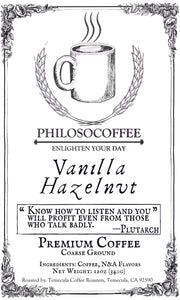 Vanilla Hazelnut - PHILOSOCOFFEE