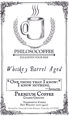 Whiskey Barrell Aged - PHILOSOCOFFEE